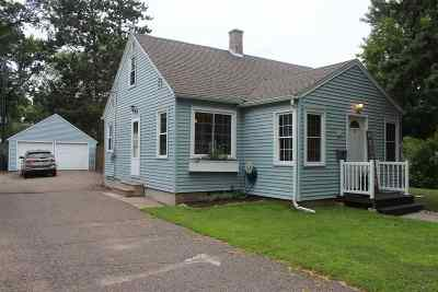 Wausau WI Single Family Home For Sale: $117,500