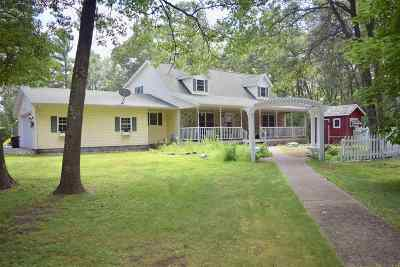 Wisconsin Rapids Single Family Home For Sale: 6120 Deer Road