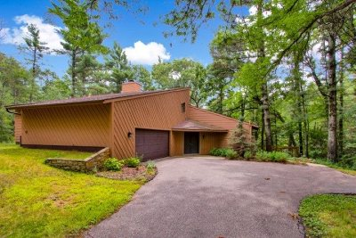 Wisconsin Rapids Single Family Home For Sale: 3820 Deer Road