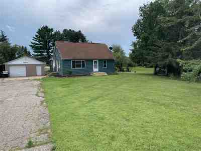 Amherst Junction Single Family Home Active - With Offer: 9373 County Road Kk