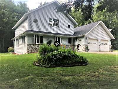 Medford Single Family Home Active - With Offer: N3965 Shattuck Street