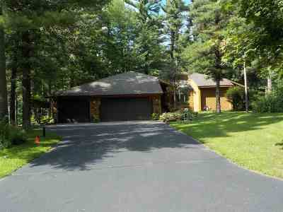 Wisconsin Rapids Single Family Home For Sale: 3421 Big Timber Drive