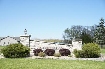 Cedarburg Residential Lots & Land For Sale: 1858 Stoneridge Ln #Lot 26