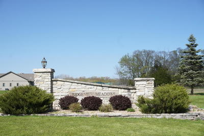 Cedarburg Residential Lots & Land For Sale: 1828 Stoneridge Ln #Lot 32
