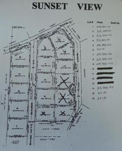 Fort Atkinson Residential Lots & Land For Sale: Lt14 Hill Ln