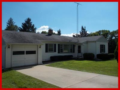 Lake Mills Single Family Home Active Contingent With Offer: N6985 Lake View Rd