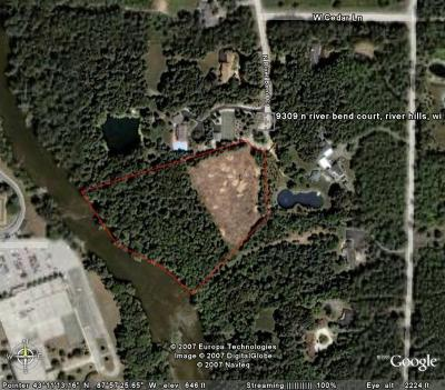 Milwaukee County Residential Lots & Land For Sale: 9309 N River Bend Ct