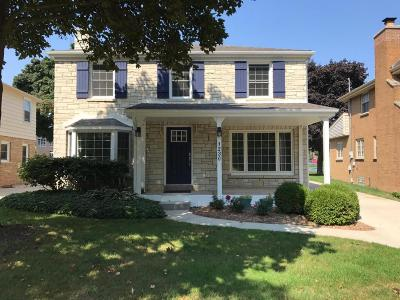 Whitefish Bay Single Family Home For Sale: 1230 E Courtland Pl