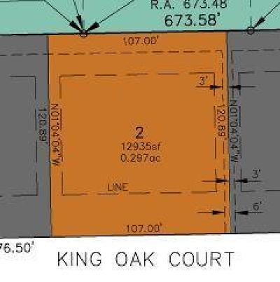Residential Lots & Land For Sale: 95 King Oak Ct