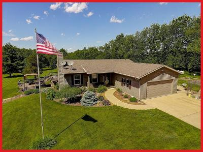 Jefferson County Single Family Home Active Contingent With Offer: N8212 County Road G