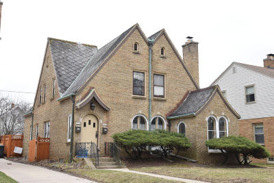 Wauwatosa WI Two Family Home For Sale: $224,900