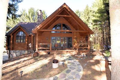 Hartford Single Family Home For Sale: N5861 Buchanan Rd