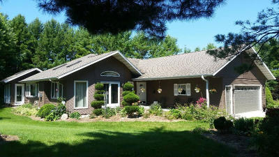 Campbellsport Single Family Home For Sale: W2808 Century Dr