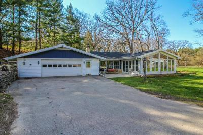 Cambridge Single Family Home Active Contingent With Offer: W9017 Us Highway 18