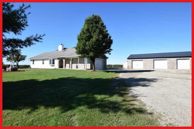 Jefferson Single Family Home Active Contingent With Offer: N5595 Popp Rd