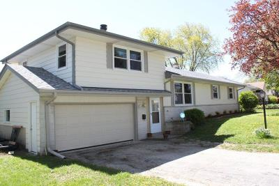 Menomonee Falls WI Single Family Home Sold: $244,900