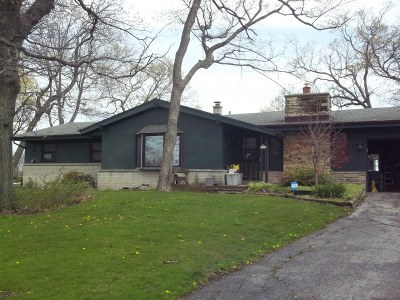 Racine Single Family Home Active Contingent With Offer: 5404 7 Mile Rd