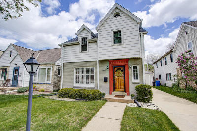 Whitefish Bay Single Family Home Active Contingent With Offer: 5574 N Kent Ave