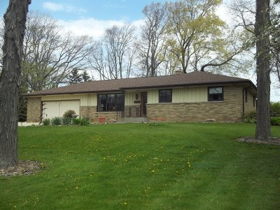 Racine County Single Family Home For Sale: 5414 7 Mile Rd