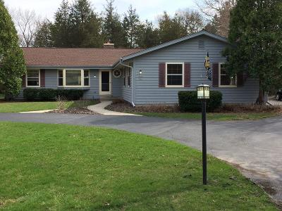 Mequon Single Family Home Active Contingent With Offer: 4703 W Chippewa Dr