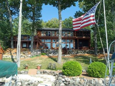 Single Family Home For Sale: N4781 Lake Dr