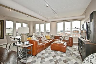 Milwaukee Condo/Townhouse Active Contingent With Offer: 102 N Water St #707