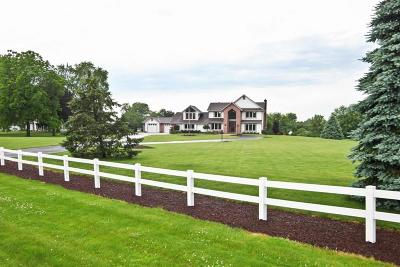 Waukesha Single Family Home Active Contingent With Offer: W266s5119 River Rd