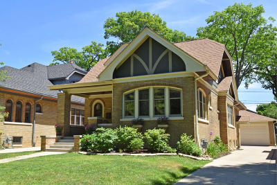 Shorewood Single Family Home Active Contingent With Offer: 4242 N Woodburn St