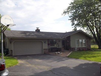 Racine Single Family Home For Sale: 5613 7 Mile Rd