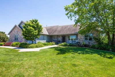 Waukesha Single Family Home Active Contingent With Offer: W308s2808 Wild Berry Ct