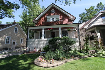 Whitefish Bay Single Family Home For Sale: 346 E Lake View Ave