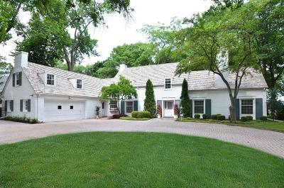 Whitefish Bay Single Family Home Active Contingent With Offer: 4720 N Lake Dr