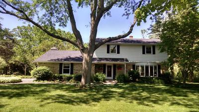 Cedarburg Single Family Home For Sale: 10634 Crestview Dr