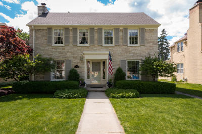 Whitefish Bay Single Family Home Active Contingent With Offer: 5227 N Berkeley Blvd