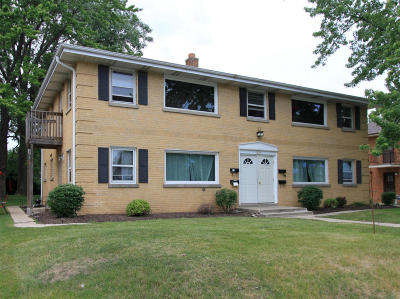 Milwaukee Multi Family Home Active Contingent With Offer: 3419 S 76th St