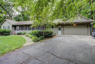 Lake Mills Single Family Home Active Contingent With Offer: W8259 Lake Ter