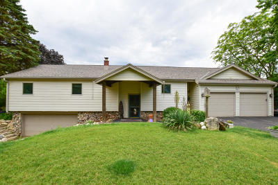 Mukwonago Single Family Home Active Contingent With Offer: W248s10890 Center Dr