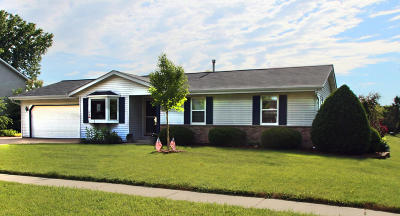 Jackson Single Family Home Active Contingent With Offer: W204n17104 Jackson Dr