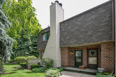 Glendale Condo/Townhouse Active Contingent With Offer: 2850 W Mill Rd #G