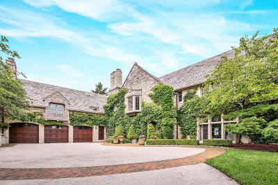 Whitefish Bay Single Family Home Active Contingent With Offer: 5320 N Lake Dr
