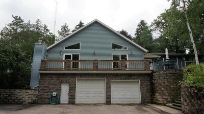 Single Family Home For Sale: N4790 Lake Dr