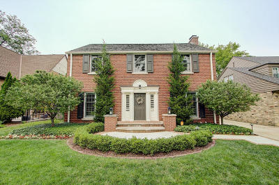 Whitefish Bay Single Family Home For Sale: 6068 N Kent Ave