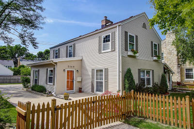 Whitefish Bay Single Family Home Active Contingent With Offer: 5509 N Santa Monica Blvd