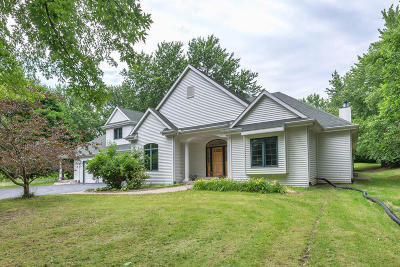 Waukesha Single Family Home Active Contingent With Offer: S30w30206 Sunset Dr