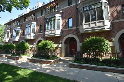 Milwaukee Condo/Townhouse Active Contingent With Offer: 1008 E Lyon St #1008