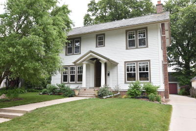Shorewood Single Family Home Active Contingent With Offer: 3920 N Stowell Ave