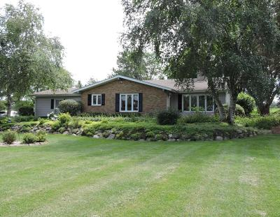 Walworth Single Family Home Active Contingent With Offer: W5493 Lakeville Rd