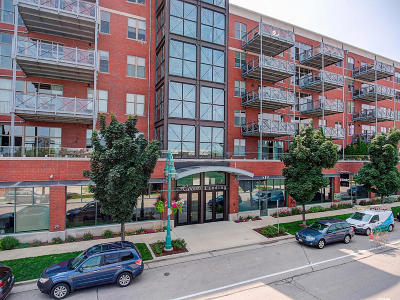 Milwaukee Condo/Townhouse Active Contingent With Offer: 541 E Erie St #203