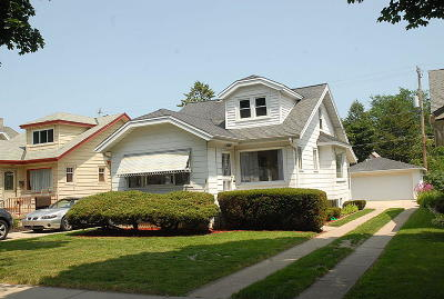 Milwaukee Single Family Home Active Contingent With Offer: 2524 N 58th St