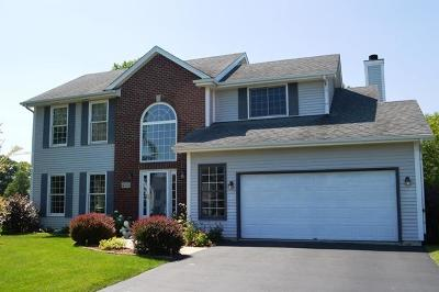 Racine Single Family Home Active Contingent With Offer: 4221 Riverpark Ln